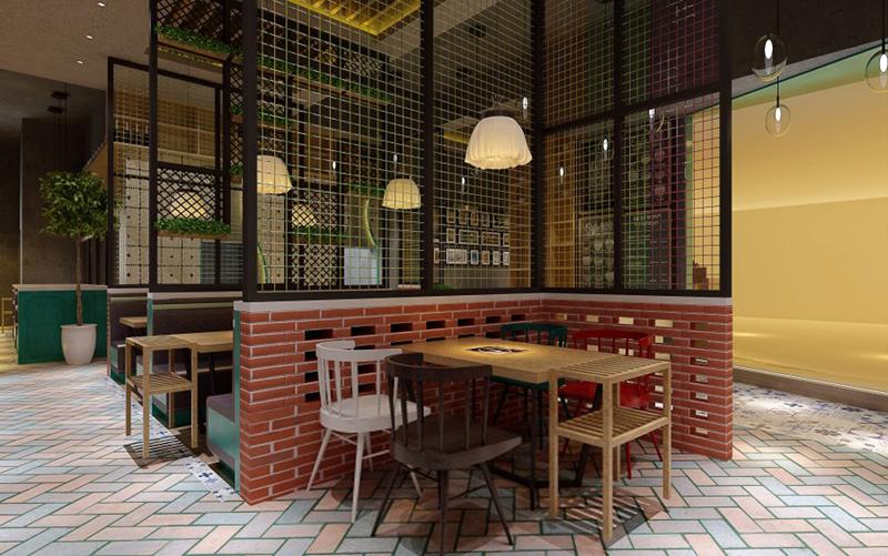 如何对小资氛围的餐厅设计