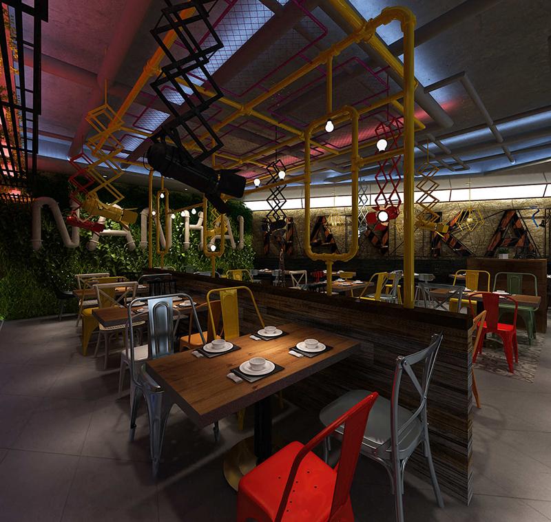 西餐厅设计色彩搭配原则