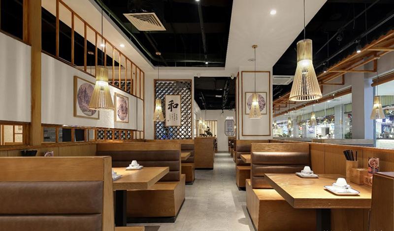 中式餐厅设计的家具配饰